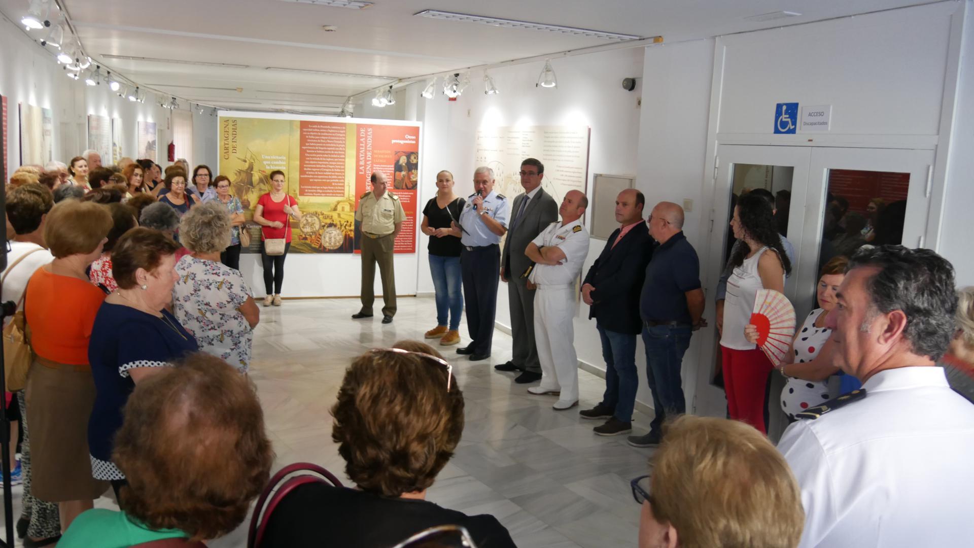 Photo of El Centro Cultural de Adra recupera la memoria de Blas de Lezo con la exposición 'El valor de mediohombre'
