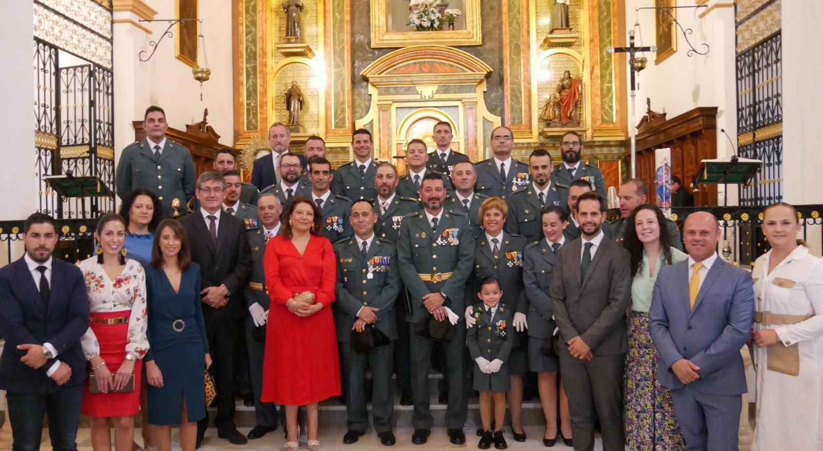 Photo of Adra conmemora el Día de la Hispanidad con una Santa Misa en honor a la Virgen del Pilar y la Guardia Civil