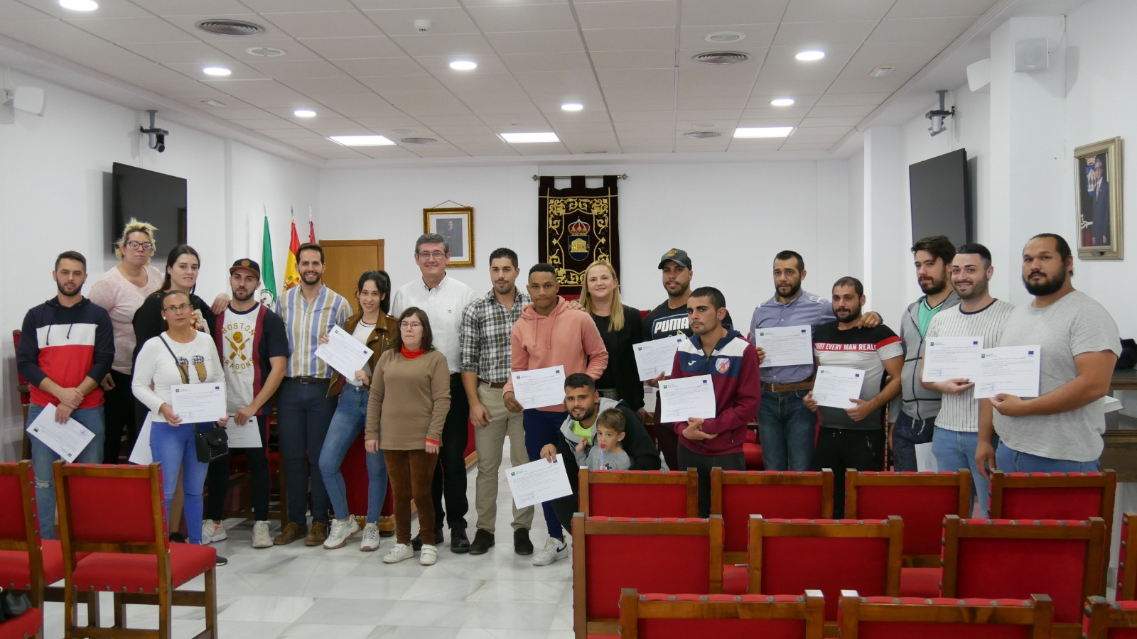 Photo of Beneficiarios de la Iniciativa de Cooperación Local reciben los diplomas acreditativos