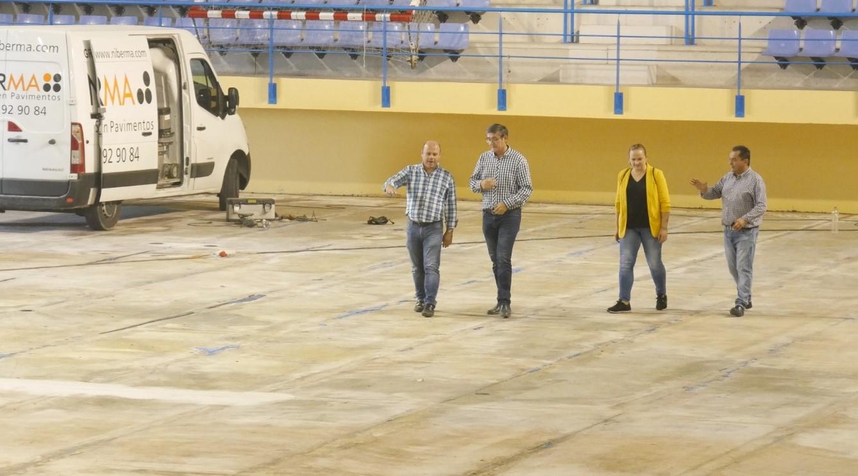 Photo of Comienzan las obras de renovación integral de la pista del Pabellón Municipal de Deportes de Adra