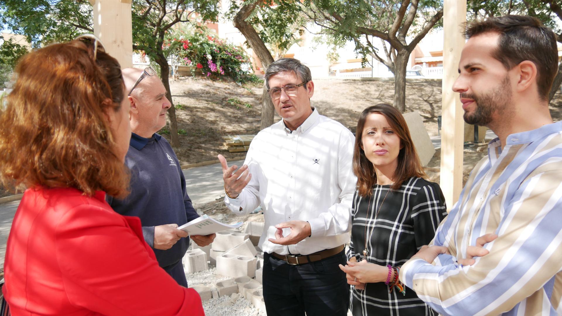 Photo of Las obras de renovación del Parque del Cercado encaran ya su recta final