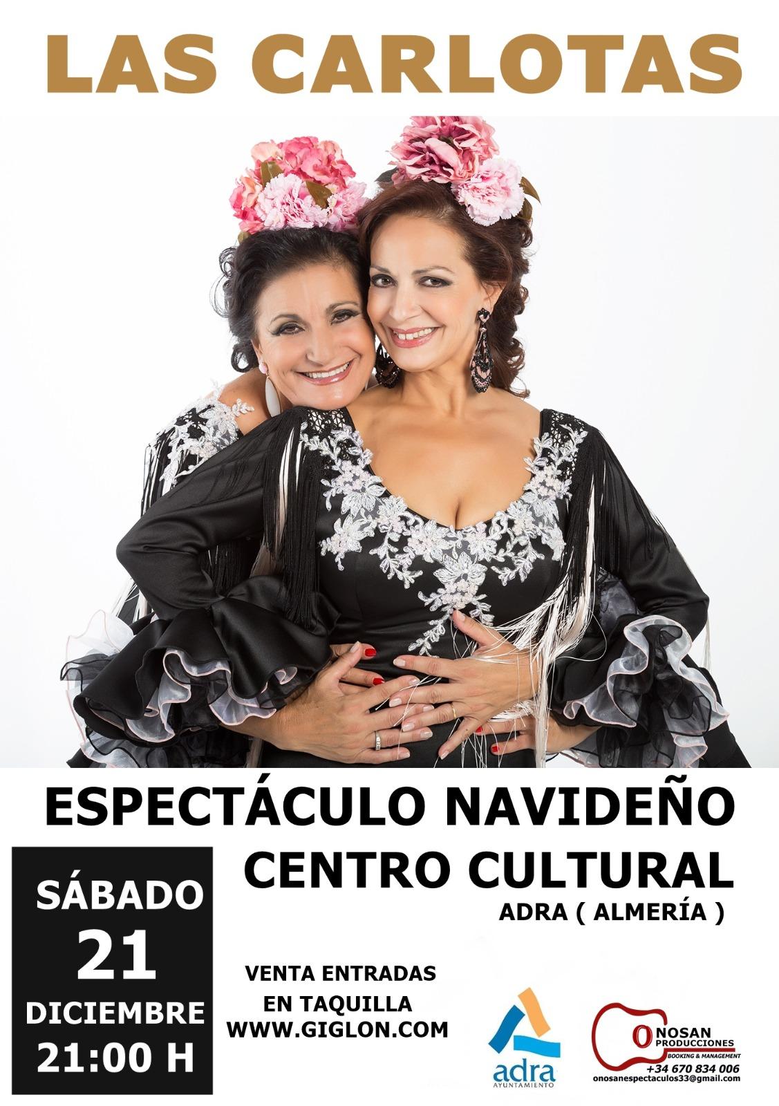Photo of Las Carlotas celebran tres décadas sobre las tablas en el Centro Cultural de Adra el 21 de diciembre