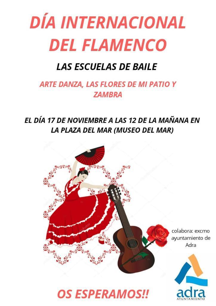 Photo of La ciudad de Adra celebra el Día del Flamenco con un flashmob de las escuelas de baile de la localidad