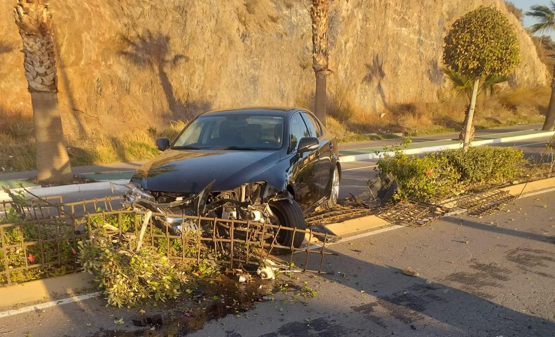 Photo of Se investiga un accidente en la carretera de La Alquería en Adra