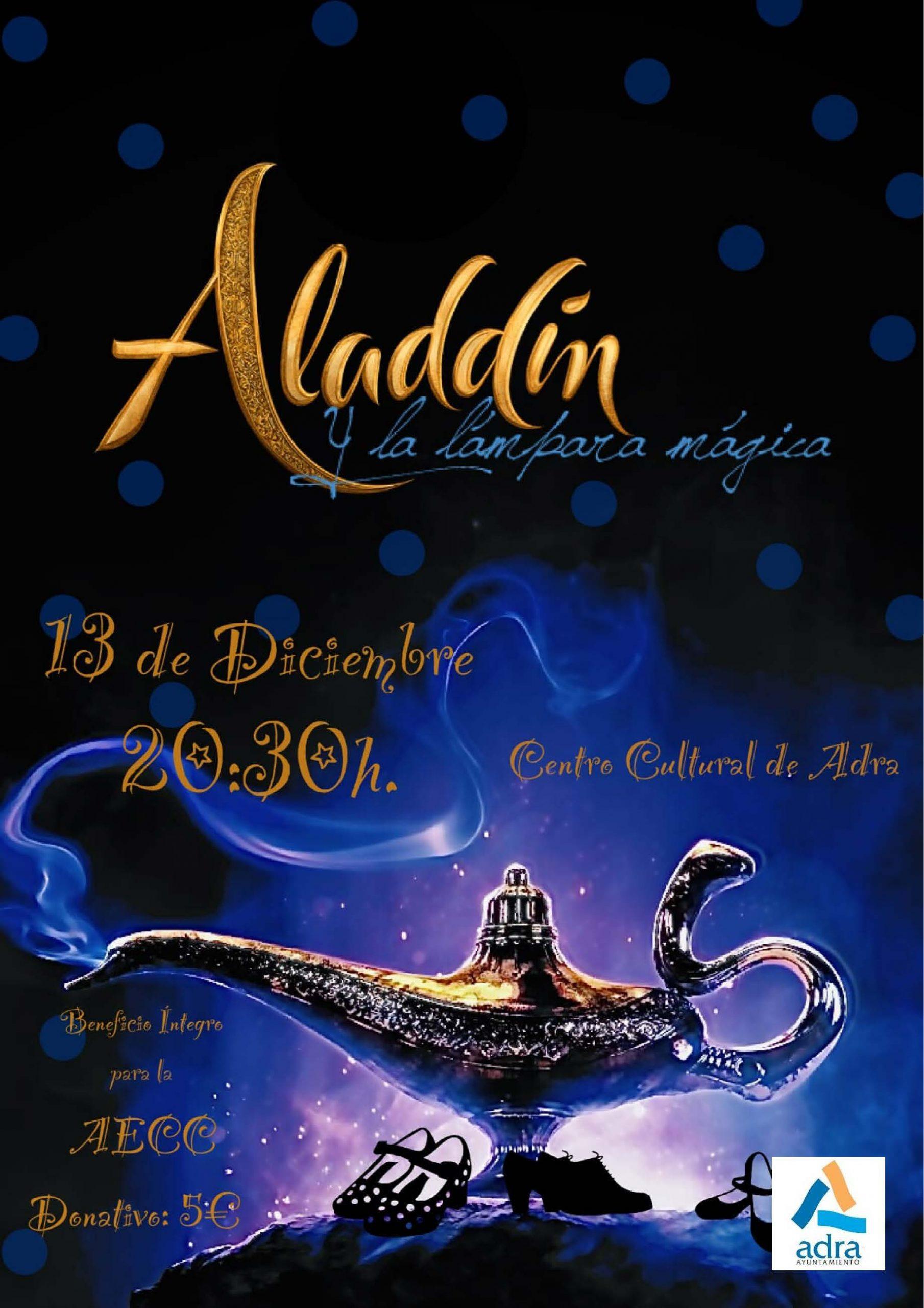 Photo of La Asociación 'Las Flores de mi Patio' lleva al Centro Cultural el espectáculo benéfico 'Aladdín' el 13 de diciembre