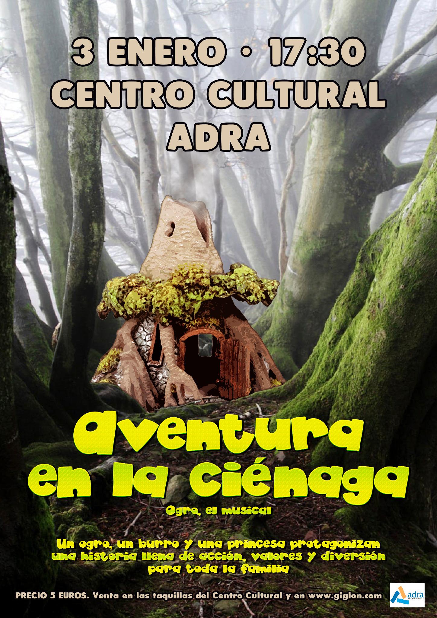 Photo of 'Aventura en la ciénaga' llega el próximo 3 de enero como antesala de la Cabalgata de Reyes en Adra