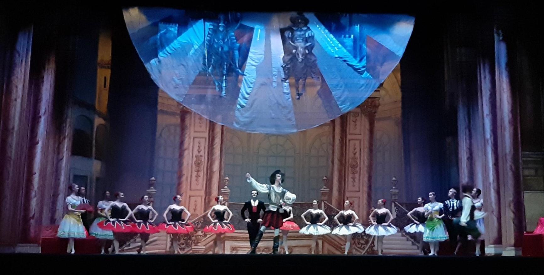 Photo of El Ballet de Moscú celebra su 30 aniversario en el Centro Cultural de Adra con su espectáculo 'Don Quijote'