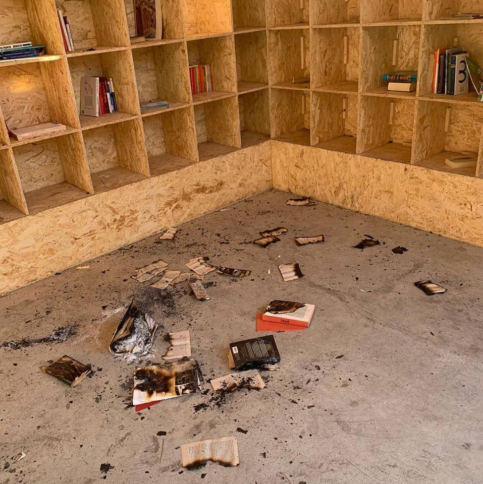 Photo of Identifican al presunto autor del intento de quemar la biblioteca del Parque del Cercado tras subir su hazaña a las redes sociales