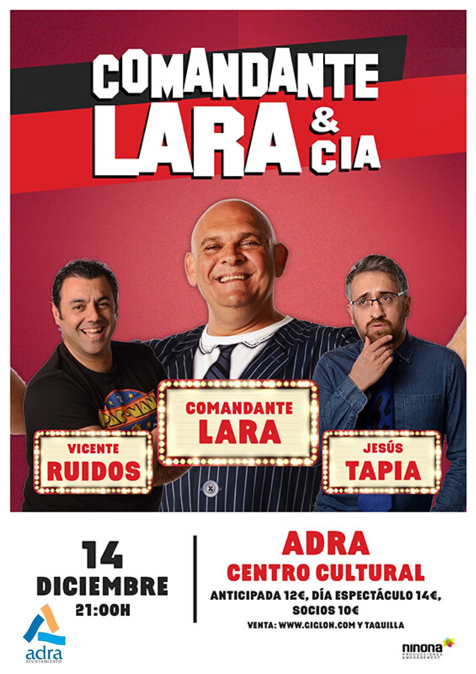 Photo of El humor gaditano de 'Comandante Lara & Cía' llega al Centro Cultural el 14 de diciembre