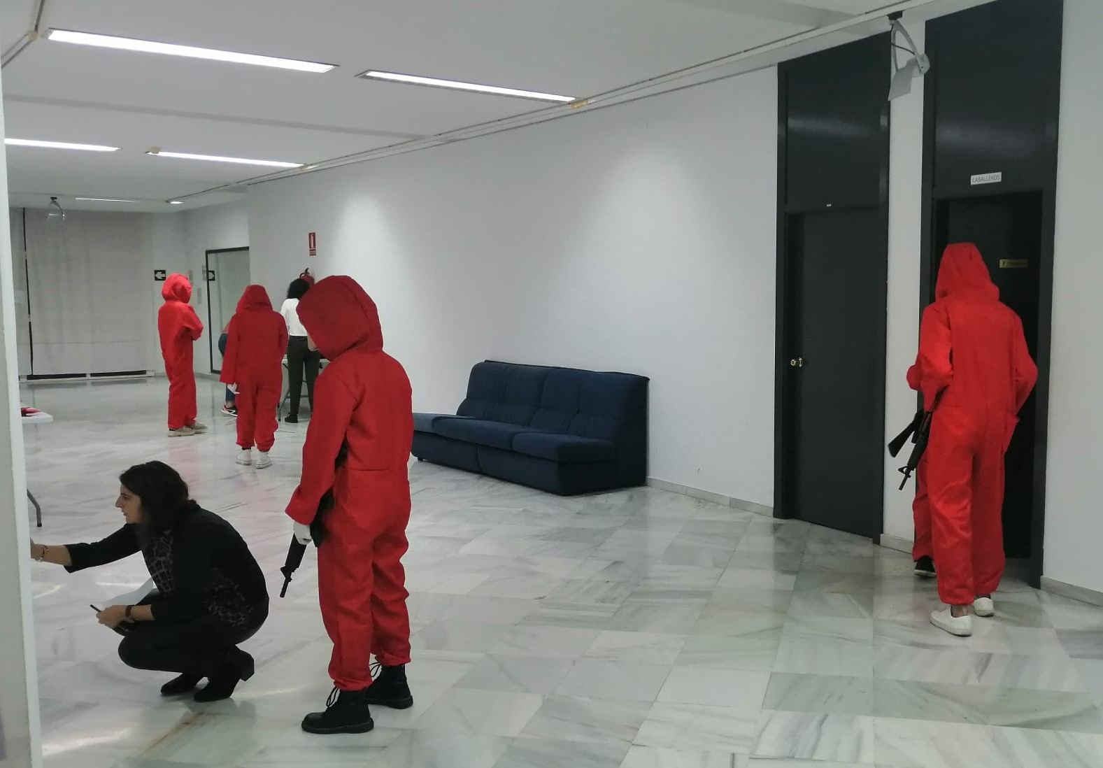 Photo of Más de 120 personas disfrutan de un exitoso 'Escape Room' basado en 'La Casa de Papel'