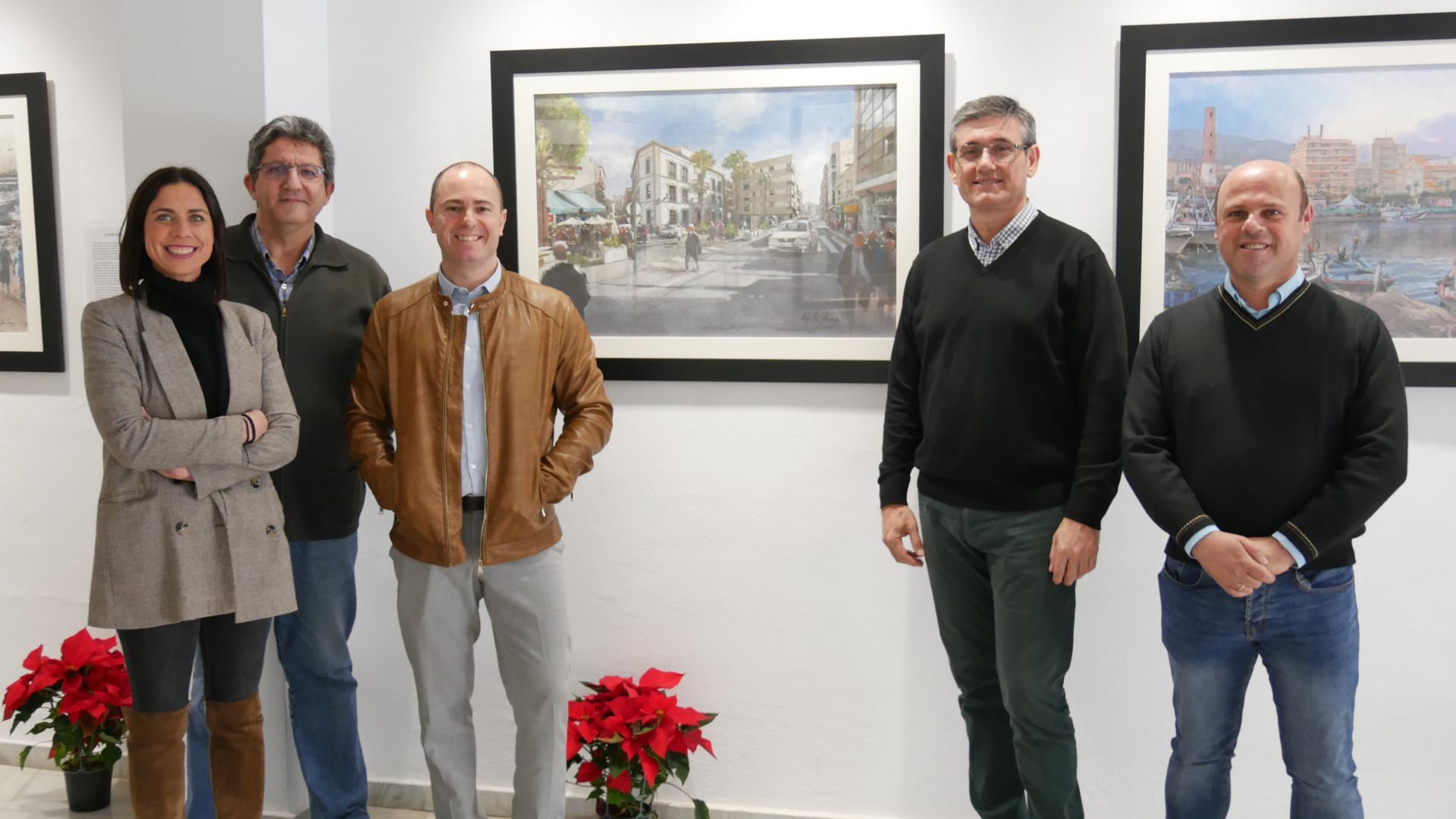 Photo of Llega a Adra la exposición 'Mis manos. Mi vida', con pinturas hiperrealistas de Manuel Higueras