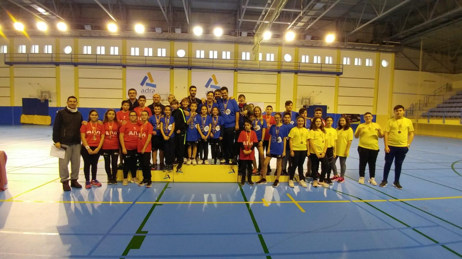 Photo of Medio centenar de jugadores participan en la primera prueba del Circuito Almeriense de Bádminton celebrado en Adra