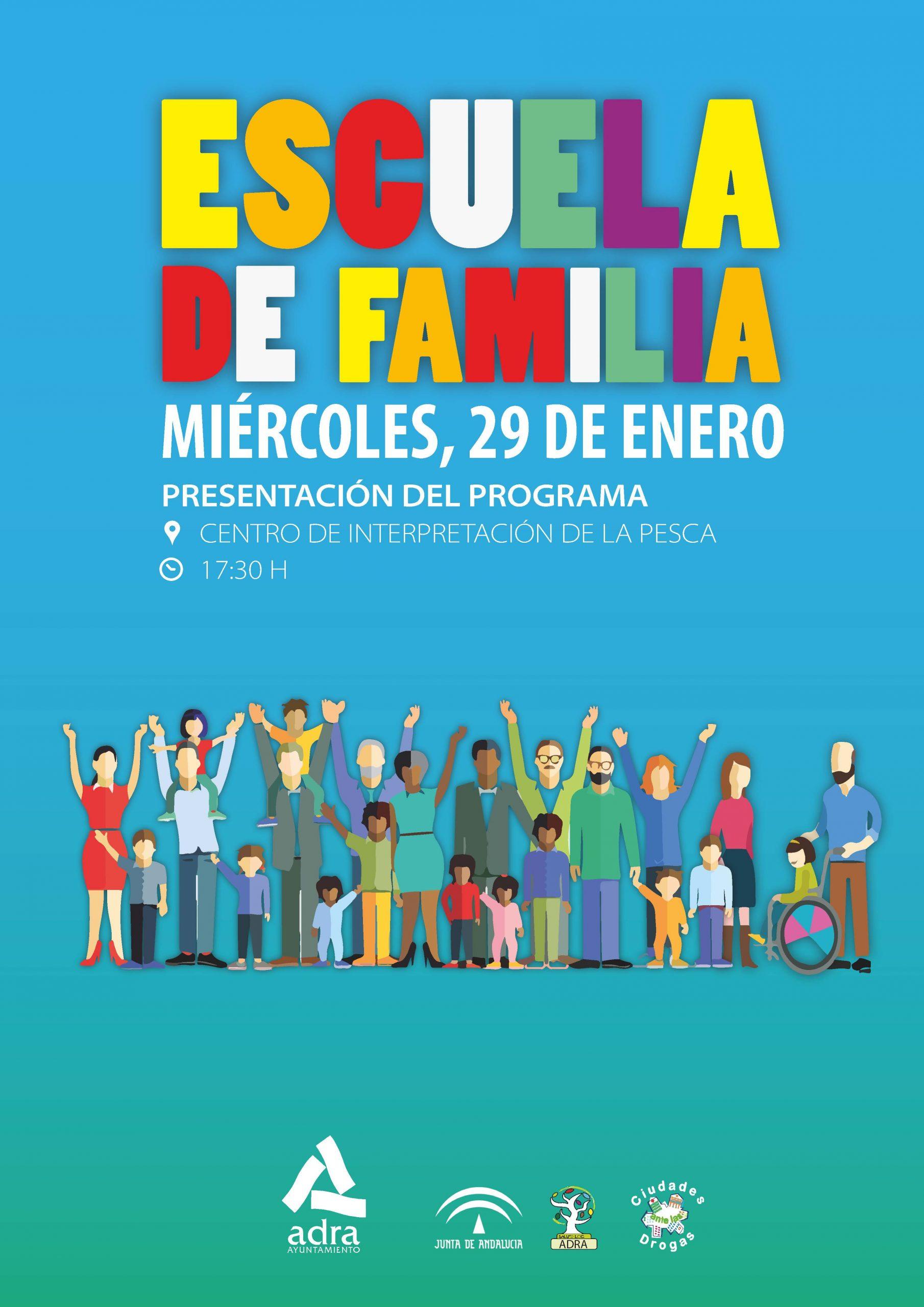 Photo of El Ayuntamiento de Adra presenta la iniciativa 'La Escuela de Familia' el próximo 29 de enero