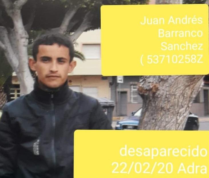 Photo of Las fuerzas de seguridad piden colaboración para encontrar a un vecino de Adra desaparecido