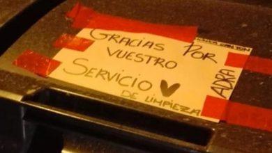 Photo of El emotivo mensaje para los servicios de limpieza de Adra