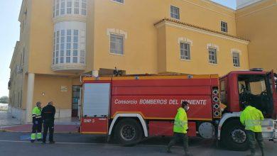 Photo of Los bomberos del Poniente se unen a las labores de desinfección en Adra este jueves