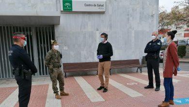 Photo of La Legión se desplaza a Adra para apoyar las labores de desinfección llevadas a cabo por el Ayuntamiento