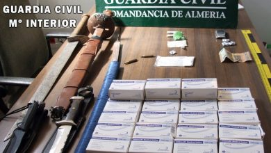 Photo of La Guardia Civil desmantela un activo punto de venta de drogas en Adra y detiene al responsable