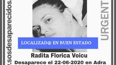 Photo of Localizada en buen estado Radica, la vecina de Adra desaparecida hace días
