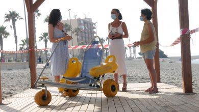 Photo of Adra garantiza la accesibilidad en sus playas con cuatro puntos para personas con movilidad reducida