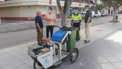 Photo of Un triciclo eléctrico para incrementar la limpieza en los espacios públicos de Adra