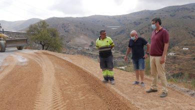 Photo of Avanzan a buen ritmo las obras de reconstrucción del camino de La Parra a la Ermita de Barranco Almerín