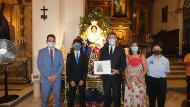 Photo of Adra celebra la primera misa en honor a la Virgen de los Ángeles en la iglesia de la Inmaculada Concepción