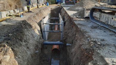 Photo of Renovados 34 metros de la red de alcantarillado en el camino de La Botella