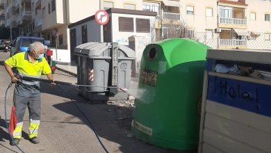 Photo of Prosiguen las tareas de baldeo y desinfección en Adra