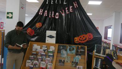 Photo of La Biblioteca Municipal de Adra celebra Halloween con una sección especial de libros