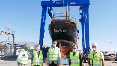 Photo of El nuevo pórtico grúa del Puerto de Adra entra en funcionamiento