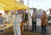 Photo of Salud instala un punto de recogida rápida de muestras en La Azucarera de Adra