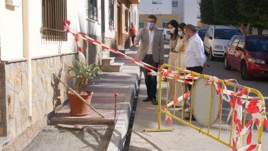 Photo of En marcha obras de acerado y mejora de accesibilidad en calle Zacatín y Plaza Andalucía