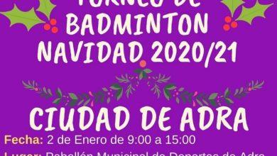 Photo of El municipio acoge el torneo navideño de bádminton 'Ciudad de Adra'