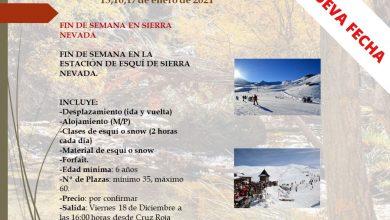 Photo of Aplaza al 15 de enero la visita a la estación de esquí de Sierra Nevada programada por 'Adra en la senda'