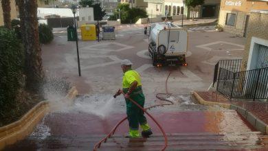 Photo of Ayuntamiento de Adra realiza 600 labores de refuerzo de limpieza y baldeo desde el inicio de la pandemia