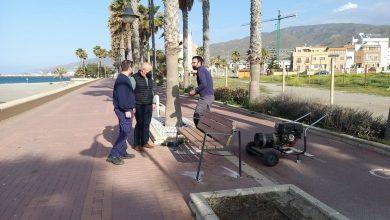 Photo of Adra continúa mejorando sus paseos marítimos de cara al próximo verano