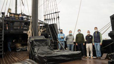 Photo of La Nao Victoria se podrá visitar en el Puerto de Adra hasta el domingo 25 de abril