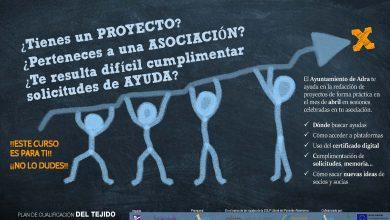 Photo of Las asociaciones de Adra contarán con formación para avanzar en su autogestión y capacitación