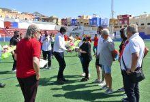 Photo of El C.F. Adra rinde póstumo homenaje a Francisco Linares 'El Fino' con una placa conmemorativa en el estadio Miramar