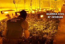 Photo of La Guardia Civil localiza una plantación indoor con 548 plantas de marihuana y neutraliza 29 enganches ilegales