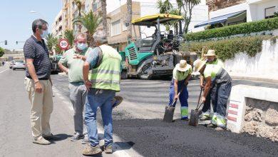 Photo of Comienzan en La Caracola los trabajos de pavimentación que beneficiarán a 14 calles de Adra y sus barriadas