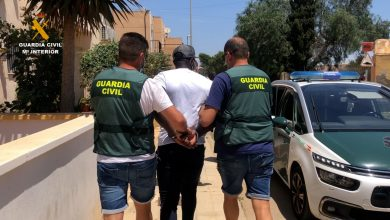 Photo of La Guardia Civil detiene al autor del homicidio cometido el pasado mes de junio en Roquetas de Mar