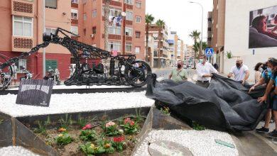 Photo of Adra dedica a la afición motera su nueva rotonda en Avenida del Mediterráneo