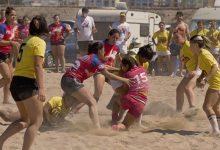 Photo of Las 'Pintarrojas de Adra' se llevan uno de los grandes premios del V Torneo de Rugby Playa 'Ciudad de Adra'