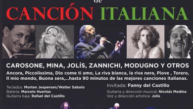 Photo of Jolís y sus '100 años de canción italiana' llega a Adra este viernes con un espectáculo junto al mar