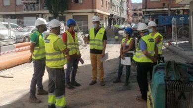 Photo of Adra renueva la red de abastecimiento, saneamiento y pluviales de la calle Neptuno