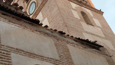 Photo of Se desprende la cornisa posterior de la Iglesia de la Inmaculada Concepción