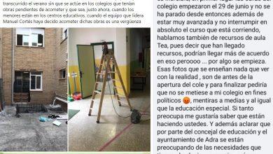 Photo of El AMPA del Mare Nostrum desmiente las acusaciones del PSOE y critica que se utilice a la comunidad educativa con fines políticos