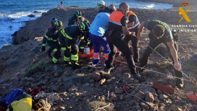 Photo of Guardia Civil y Bomberos auxilian a una persona herida en Cabo de Gata
